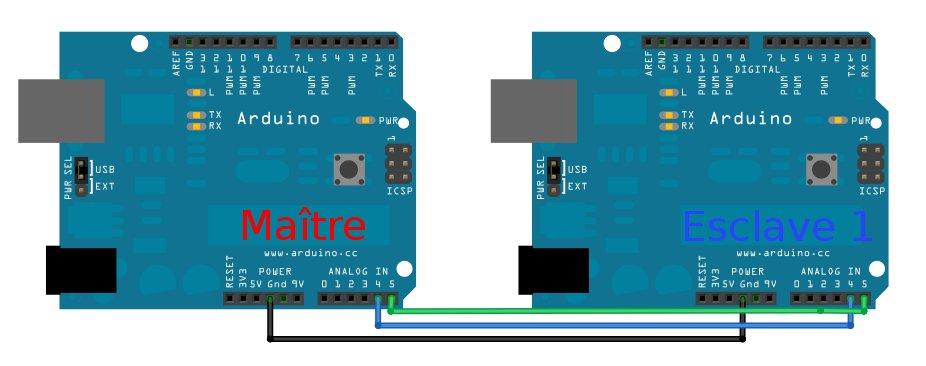 Arduino I2C branchement datant cauchemars d'une seule femme