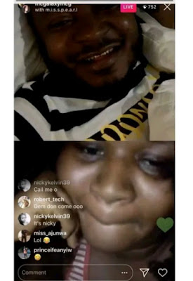 See the face of 18-year-old Unilag girl who is ready to go naked on MC Galaxy live video