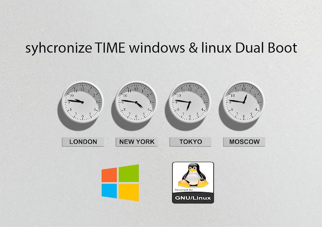 Cara Menyamakan Waktu di Linux dan Windows Dual Boot