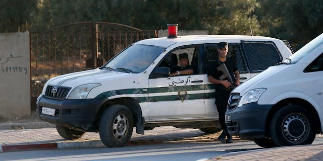 مركز الحرس الحدودي  ببودرياس يتعرض لهجوم من عناصر إرهابية