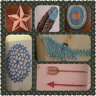 DIY String Art projects collage 1