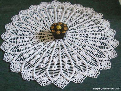 crochet napkins patterns