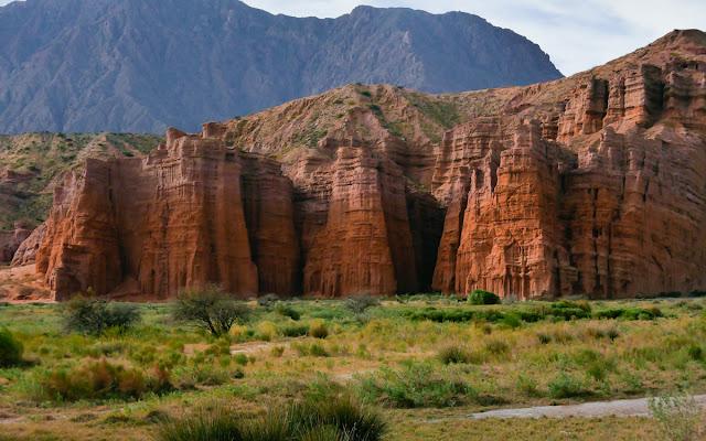 Reserva Natural Quebrada das Conchas em Salta