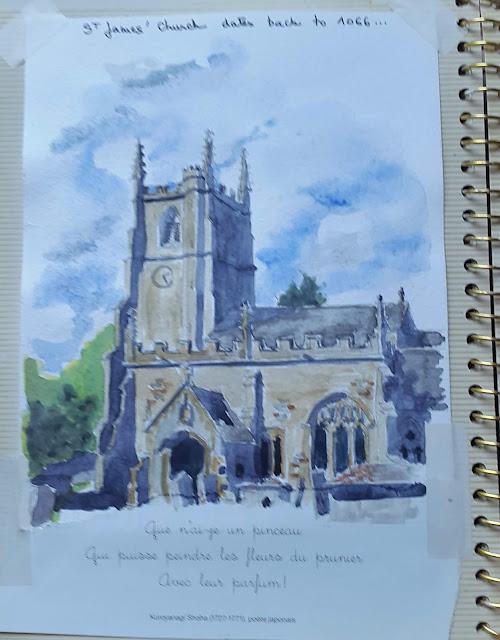 st james church Avebury