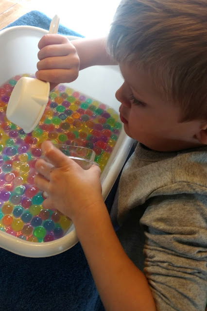 Water beads are a fun, simple and inexpensive activity for younger children and there are so many ways to play with them!