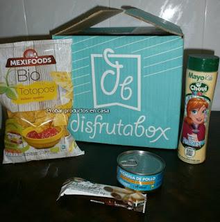 "Disfrutabox abril 2017: ""Al Desnudo"": Chovi, Casa Matachin, Esgir, MExifoods"