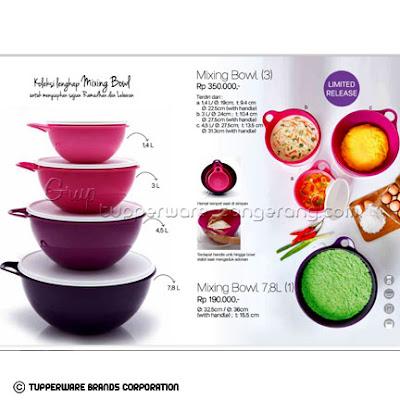 Mixing Bowl ~ Katalog Tupperware Promo Juni 2016