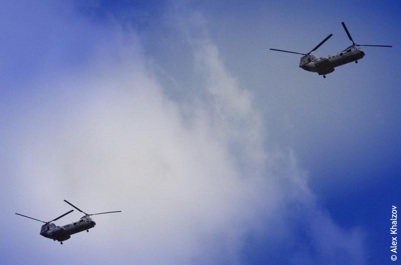 Вертолёты над Таиландом