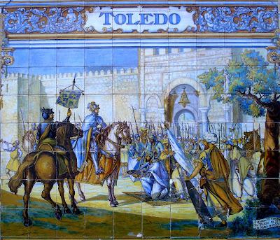 Resultado de imagen de Reconquista de Toledo