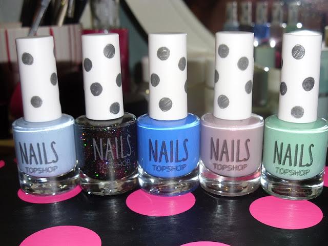 My Top 5 Topshop Nail Polishes