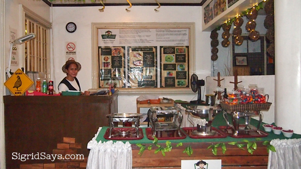 Sir Jess Cafe, Bacolod healthy food options