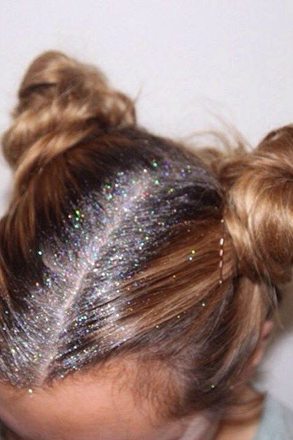 Glitter Roots is The Official Hairstyle of Festival Season
