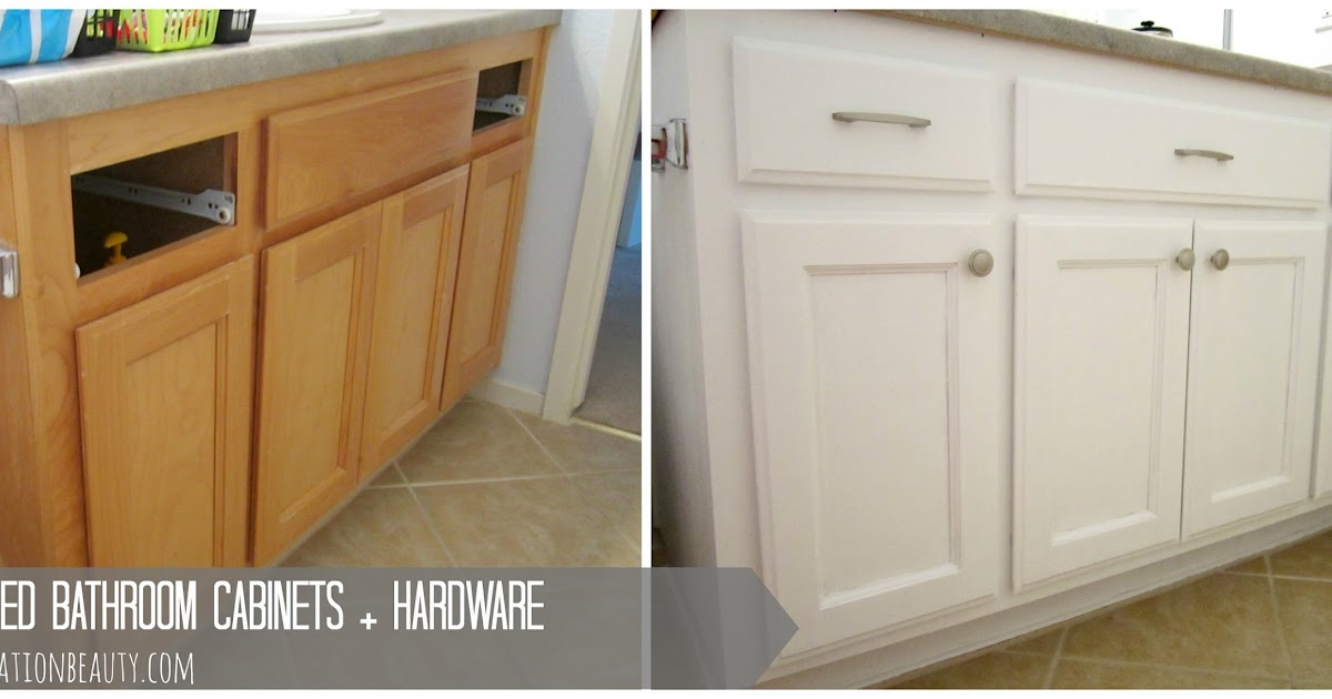 hardware for bathroom cabinets restoration painted bathroom cabinets hardware 18668 | painted bathroom cabinets before and after