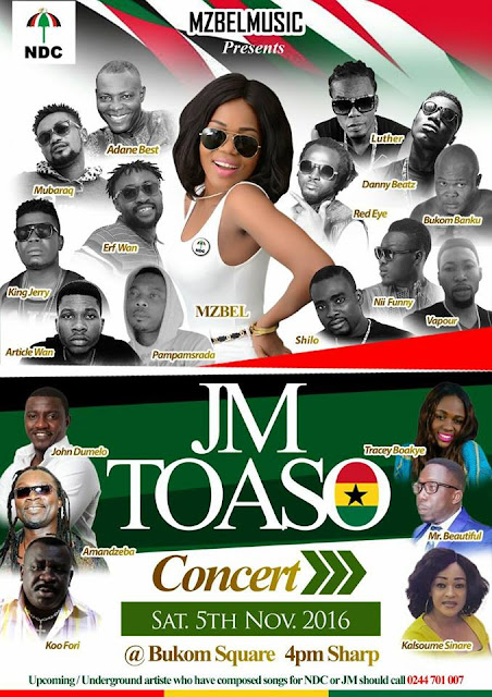 Mzbel Music Presents JM TOASO Concert