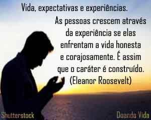 A vida, o tempo e as experiências