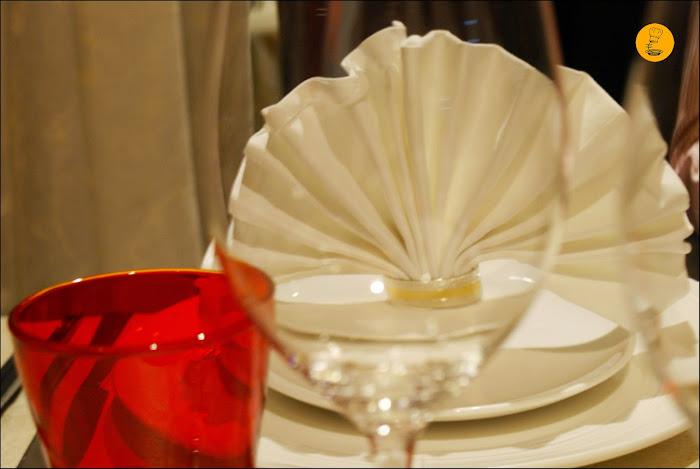 Decoración mesa Restaurante El Bund Madrid Arturo Soria