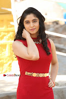 Telugu Actress Zahida Sam Latest Pos in Red Gown at RF Films New Movie Opening  0009.JPG