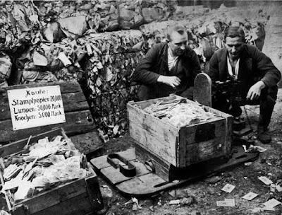 inflacion en la Republica de Weimar