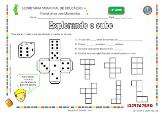 caderno atividades de matematica 4 ano