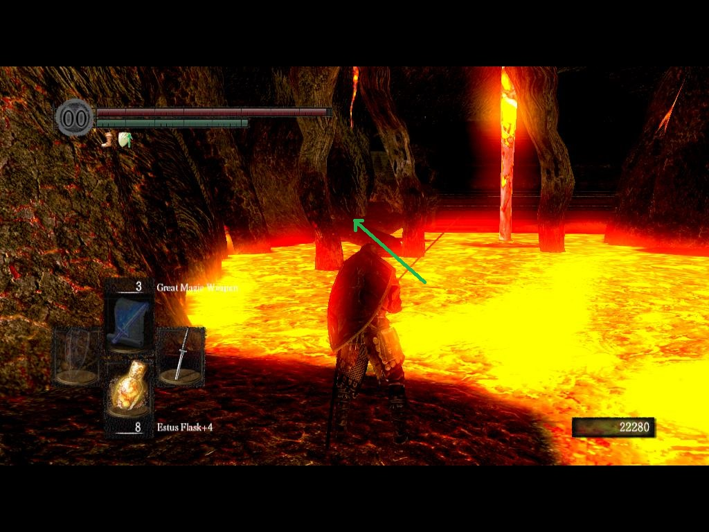 dark souls how to get to the lost izalith