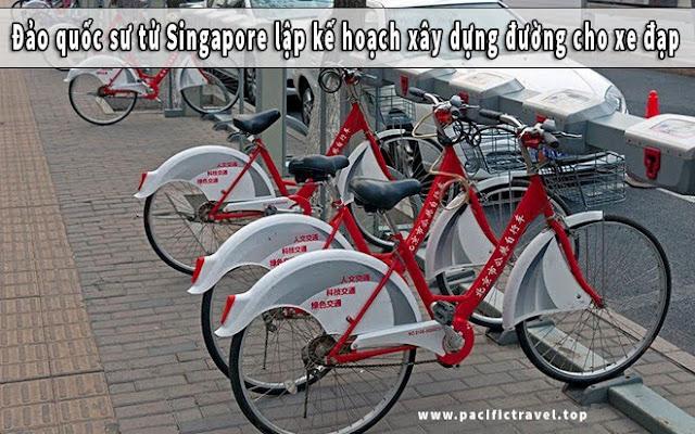 Đảo quốc sư tử Singapore lập kế hoạch xây dựng đường cho xe đạp