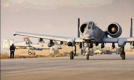 Pesawat Tempur A-10 Thunderbolt Dipertahankan Sampai 2022