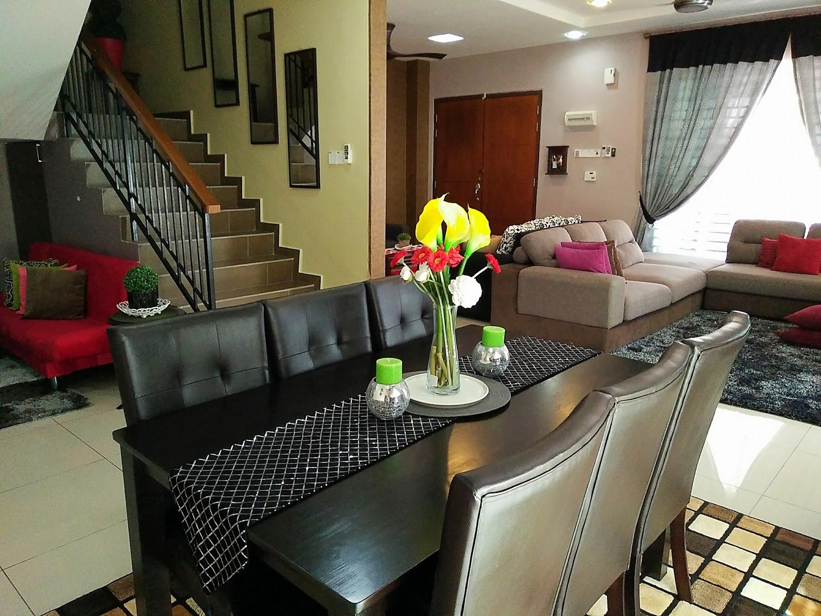 Gambar Desain Ruang Tamu Menyatu Ruang Makan Interior Rumah