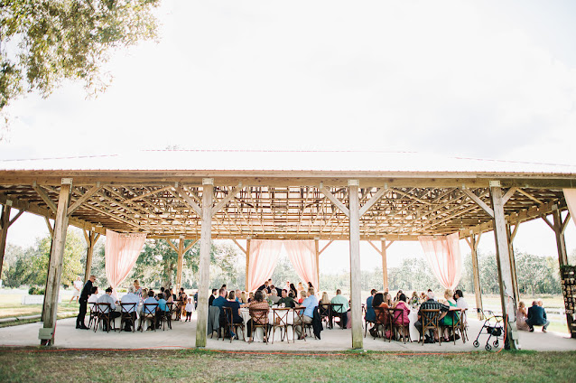 reception space with guests