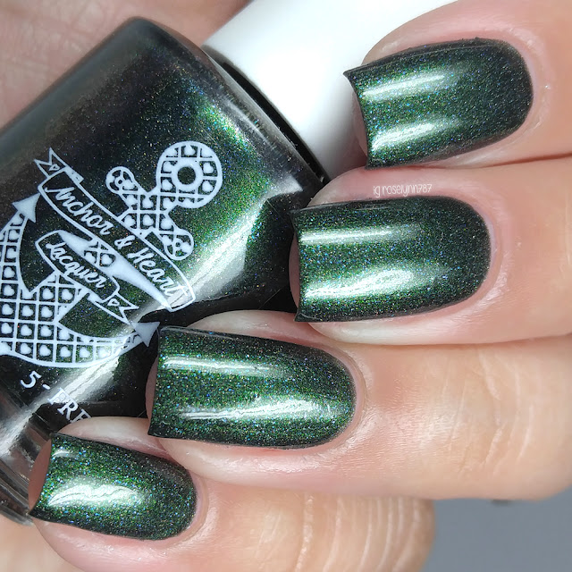 Anchor & Heart Lacquer - Dino DNA