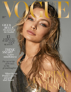 Gigi and Bella Hadid pose nude for Vogue