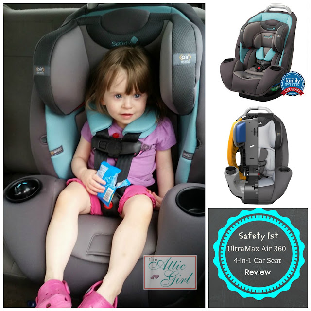 Safety 1st UltraMax Air 360 4-in-1 Convertible Car Seat #sponsored