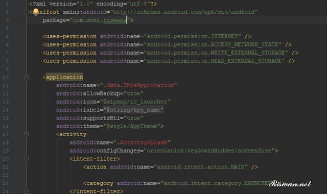 Cara Mengubah Tema Android Studio Menjadi Dark (Dracula) - Riswan.net
