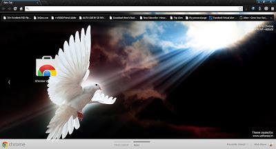Messenger of Peace Google Chrome Theme