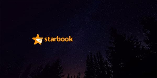 Inspirasi Desain Logo Kreatif 2017 - Starbook Logo Design