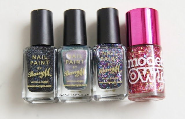 Barry M. Nail Paints and Models Own nail polish
