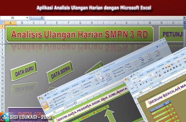 Aplikasi Analisis Ulangan Harian Peserta Didik dengan Microsoft Excel