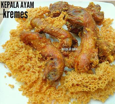 Resep Kepala Ayam Remes By @misyaalsakhi