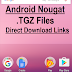 Download Android 7.0 Nougat Factory Image Files via Direct Links