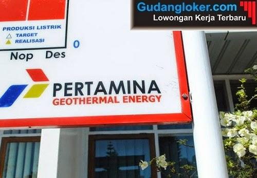 Lowongan Kerja BUMN Pertamina Geothermal Energy