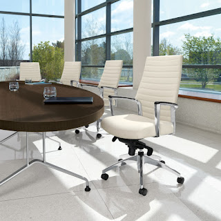Ribbed Back Office Chairs