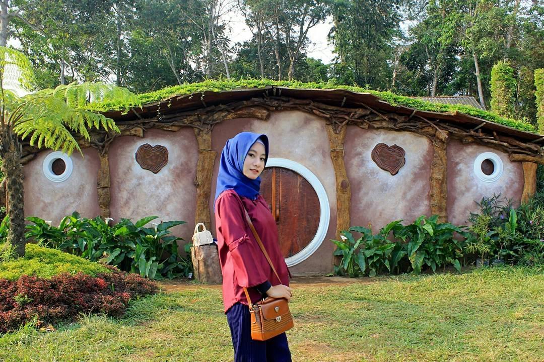 Wisata Spot Corner Paling Hits Taman Bunga Celosia Bandungan
