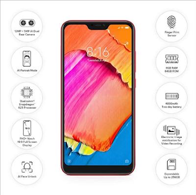 रेडमी 6 प्रो 3GB रैम और 32GB इंटरनल स्टोरेज सिर्फ ₹8999