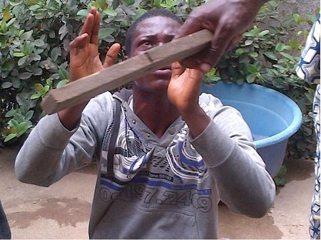 So Terrible! What Angry Residents Did to a Thief Will Shock You (Photos)