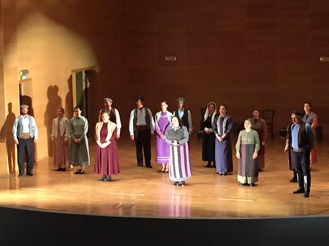 Την Ποντιακή θεατρική παράσταση ''Η Έξοδος'' παρουσίασαν οι Αργοναύται - Κομνηνοί (Video)
