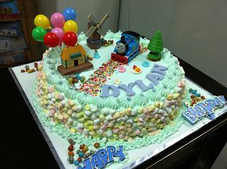 Haven Bakery Dylan Thomas Birthday Cake