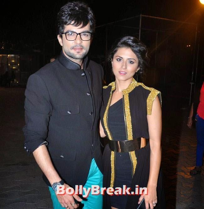 Rakesh Bapat and Ridhi Dogra, Star Parivaar Awards 2014 Red Carpet Pics