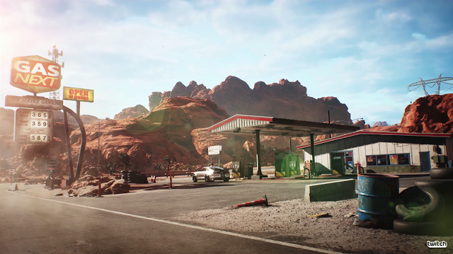 Need For Speed Payback Gas Next station Electronic Arts EA E3 2017