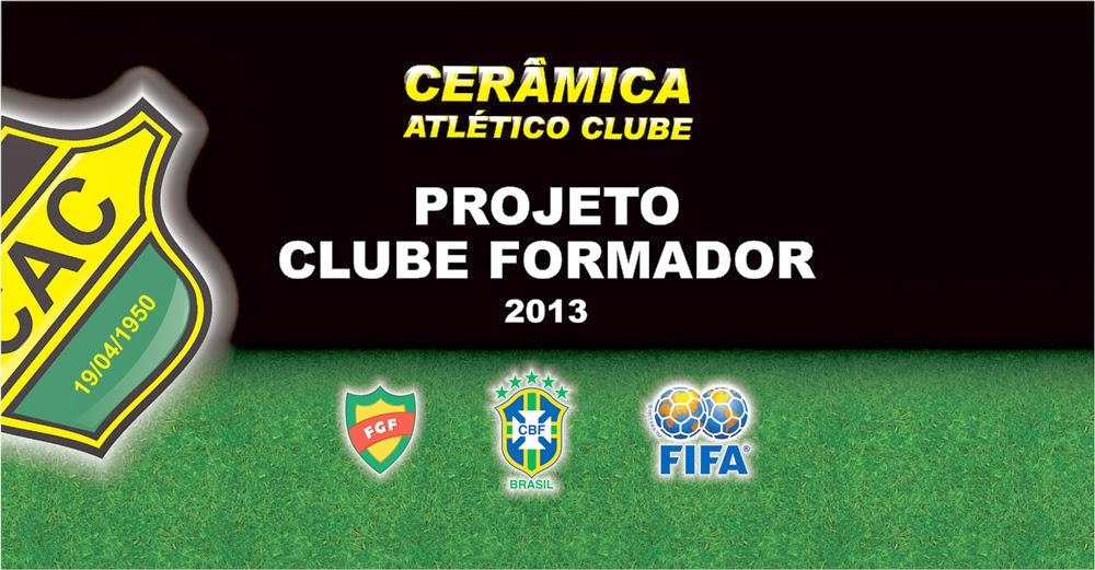 Central do Futebol Gaúcho  Cerâmica recebe da CBF certificado de ... 6d99bde5d1c80