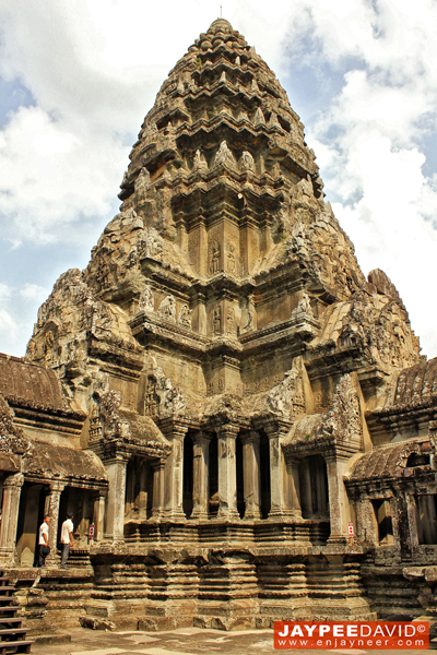 Angkor Wat Temple, Siem Reap, Cambodia, Khmer Architecture, Carvings, Structure, Sculpture, Cambodian Temples, Asia, Religious Monument