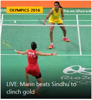 PV Sindhu loses in Rio Olympics badminton women's singles final, settles for silver